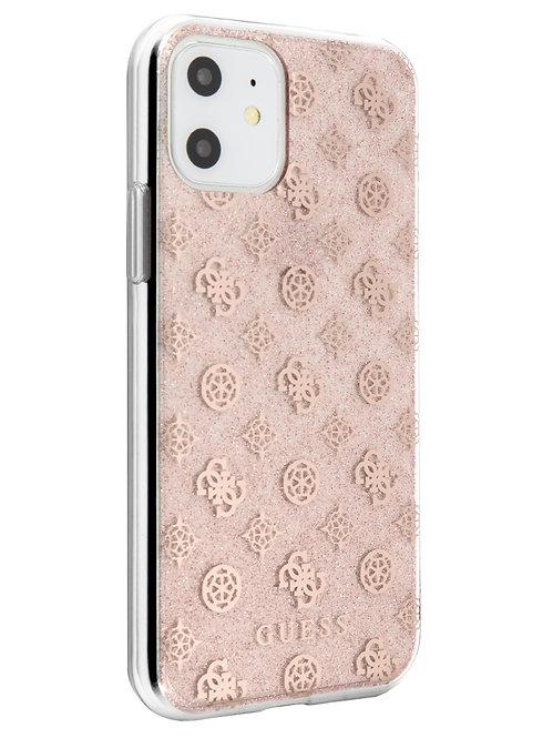 Чехол Guess для iPhone 11, розовый