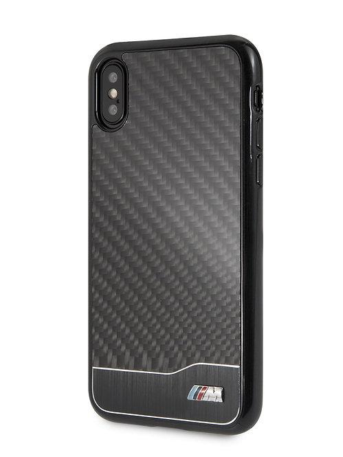 Чехол BMW для iPhone X/Xs, черный