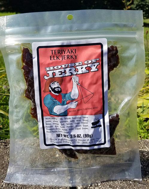 Elk Jerky - Teriyaki - 1.75oz.