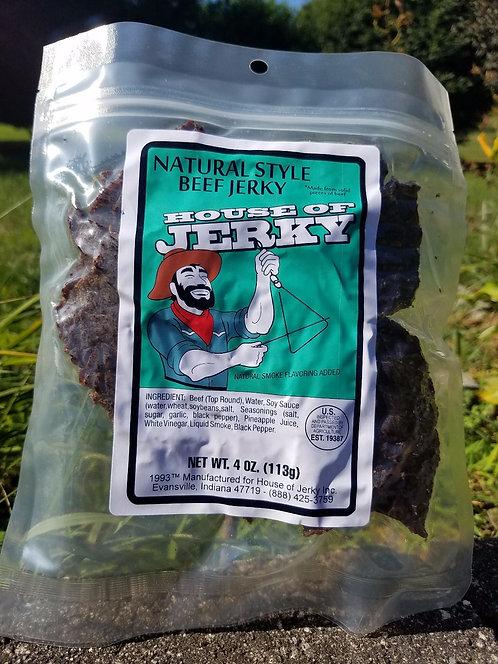 Natural Beef Jerky - 4oz.