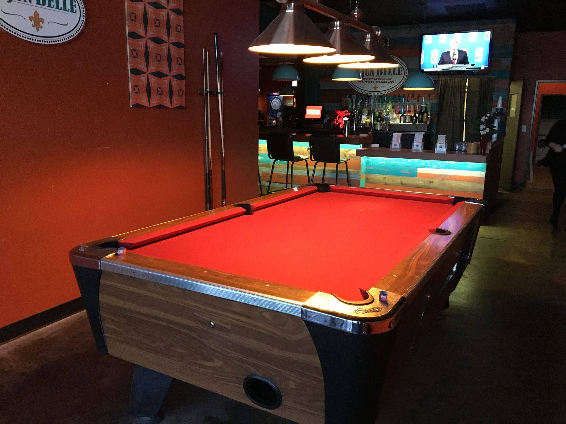 cajun pool table 1