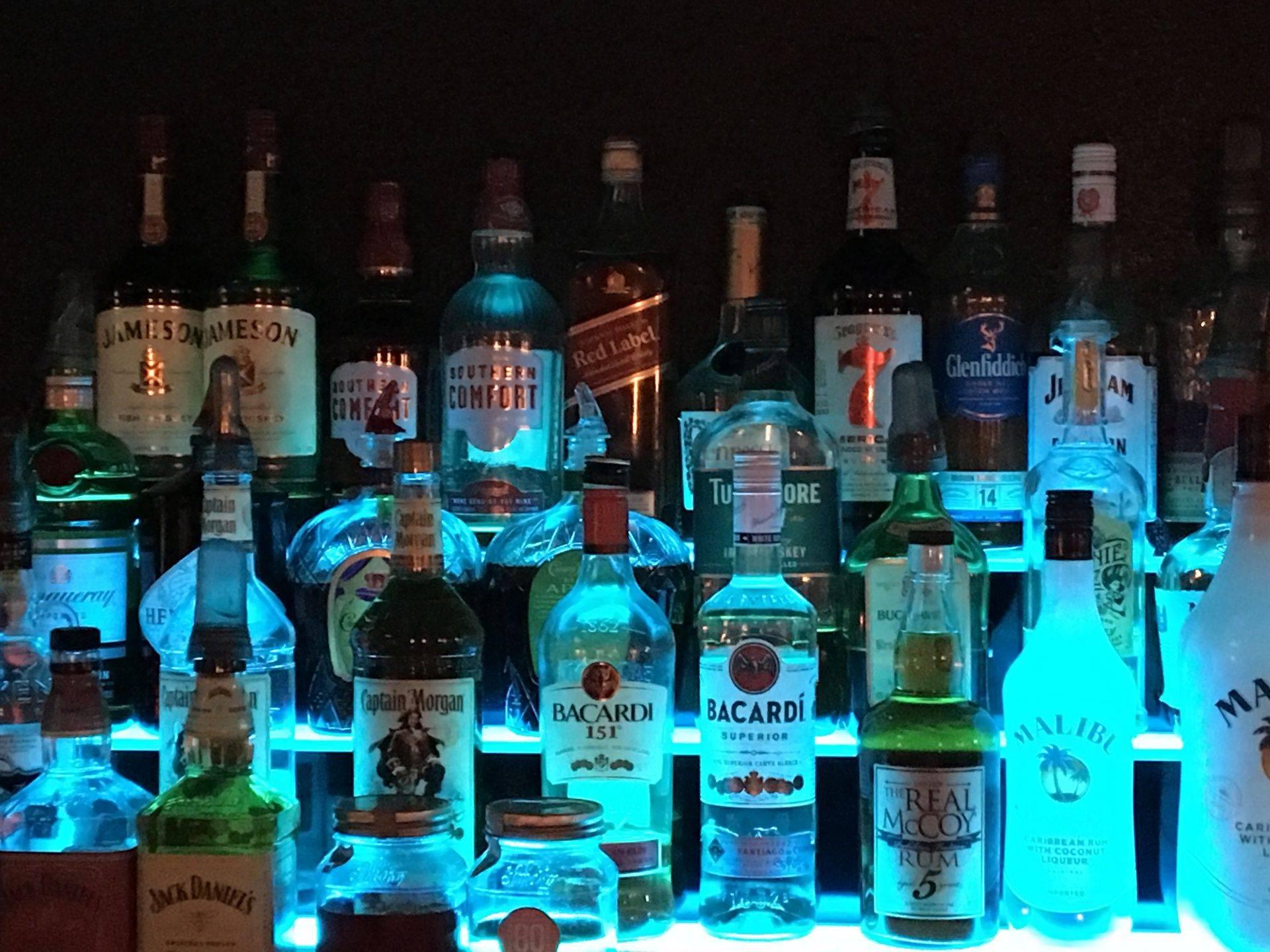 cajun bottles blue