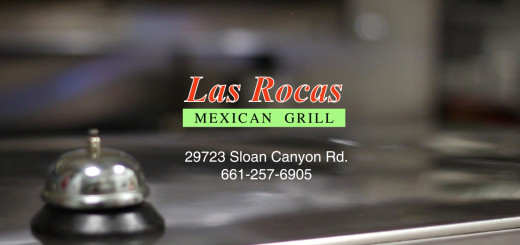 las rocas logo with bell