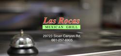 las rocas logo with bell
