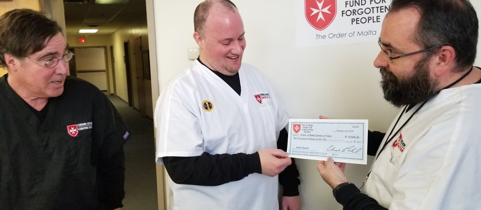 2018 Order of Malta Center of Care Grant Award
