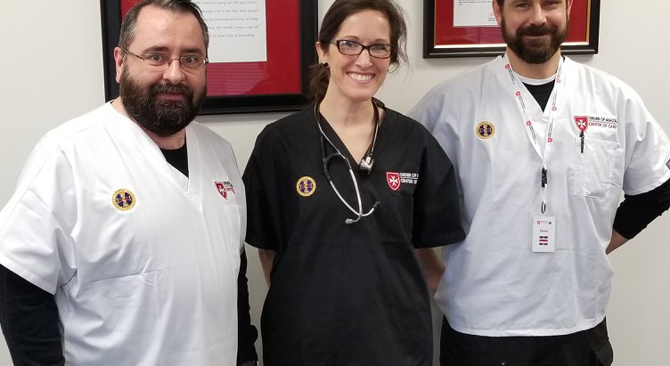 New service uniforms for the Center of Care