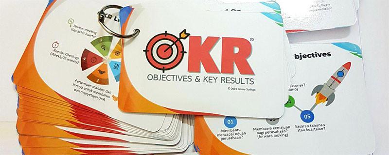 Kartu OKR Guide Cards - Pelatihan Training Jimmy Sudirgo