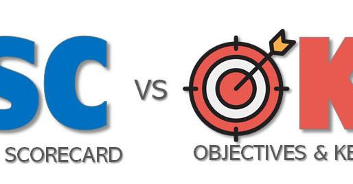 Perbedaan OKR dan BSC