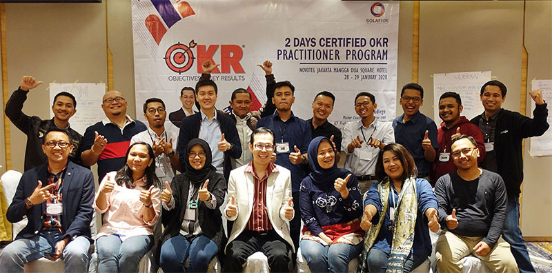 Pelatihan OKR Certified Practitioner Training Program Jakarta 2020 Jimmy Sudirgo