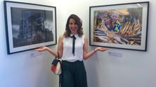 """Participação na exposição """"Artistas Unidos Contra a Fome"""" da CPLP, em Lisboa"""