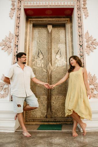 Couple Photoshoot Temple Bangkok