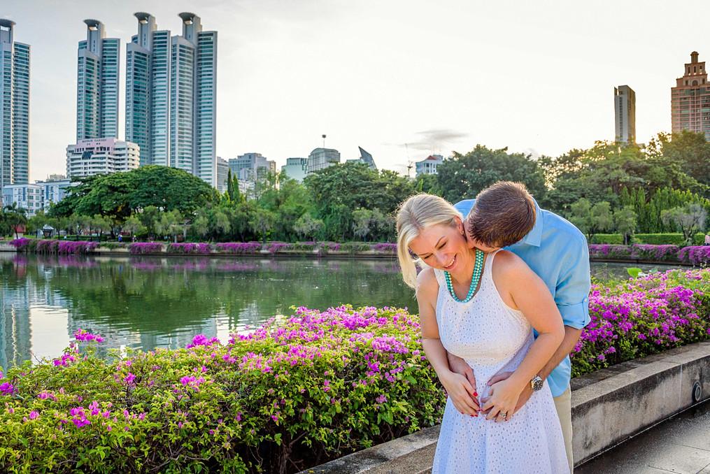 Family Photoshoot Benjakiti Park Bangkok