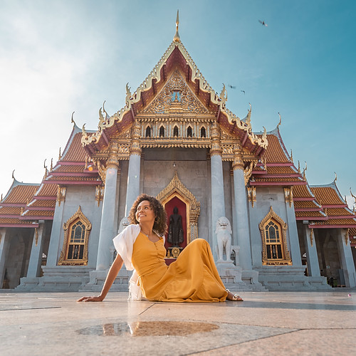 Photoshoot Carol Marble Temple & Wat Pho