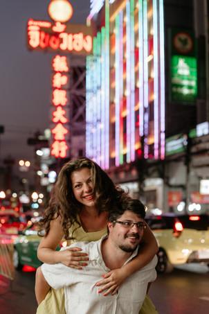 Couple Photoshoot Chinatown Bangkok