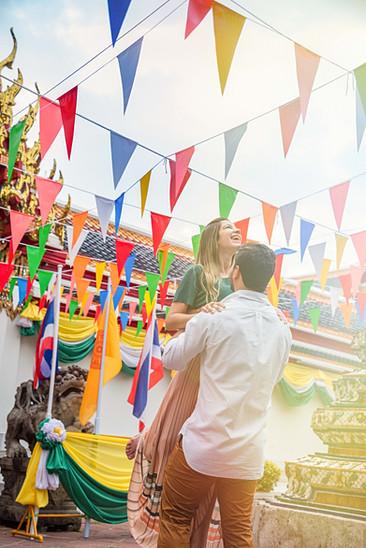 Couple Photoshoot Wat Pho Bangkok