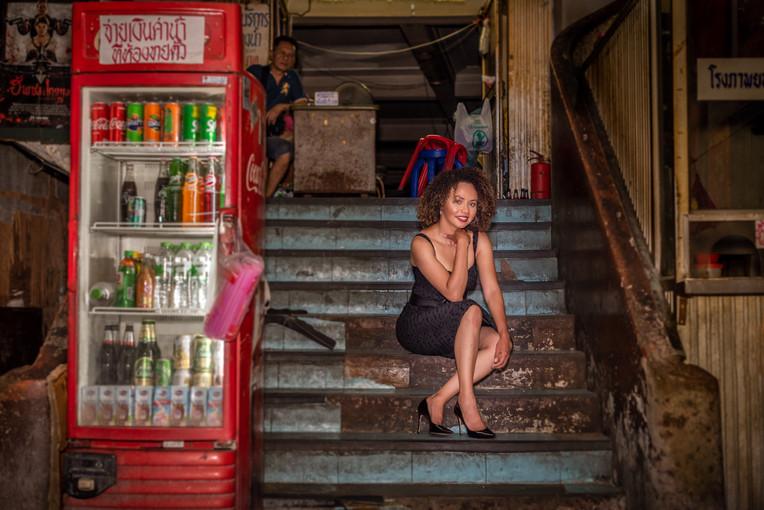 Traveler Photoshoot Chinatown Bangkok