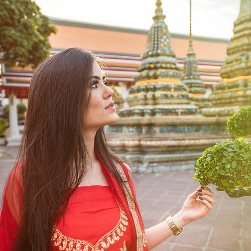 Photoshoot Traveler Wat Pho Bangkok