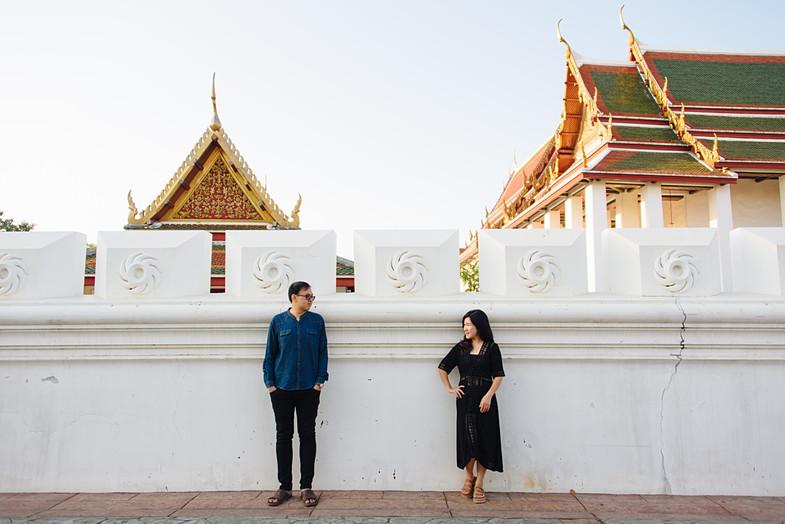Couple Photoshoot Wat Ratchanadaram Bangkok