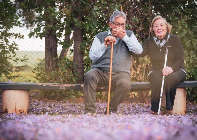 Senior Couple Photoshoot Brazil