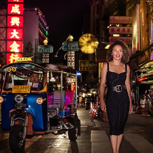 Caroline Santos Chinatown (Fotos na Mala)