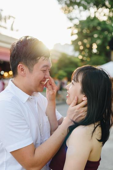 Couple Photoshoot Asiatique Bangkok