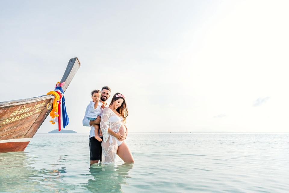 Family Photoshoot Phi Phi Thailand