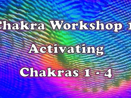 Chakra Workshop 1:  Activating Chakras 1-4