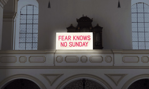 FEAR KNOWS NO SUNDAY