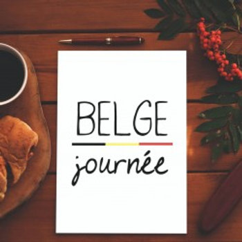 Carte postale / Belge journée