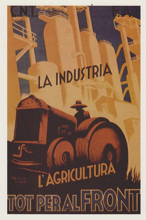 Carte postale / La industria / L'agricultura