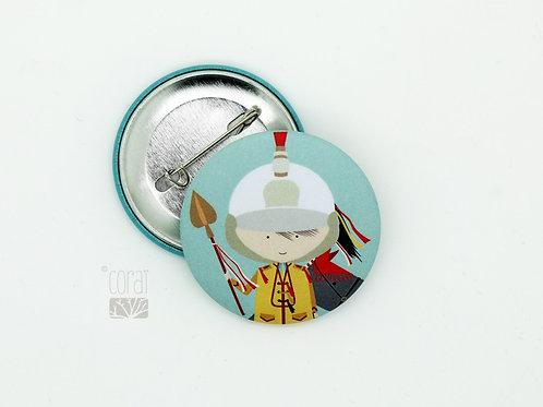 Badge / Petit Saint-Georges Au Vent