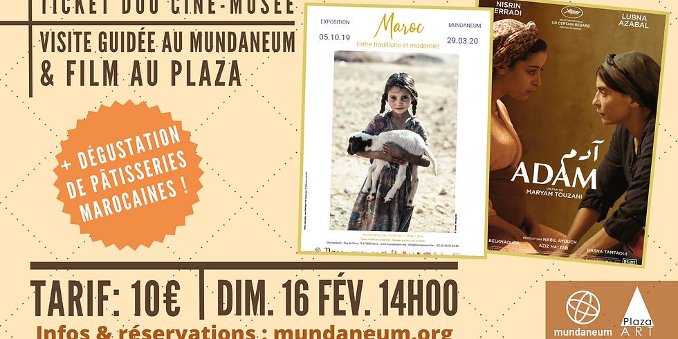 Ciné- Expo ! Visite guidée Maroc + Film au Plaza