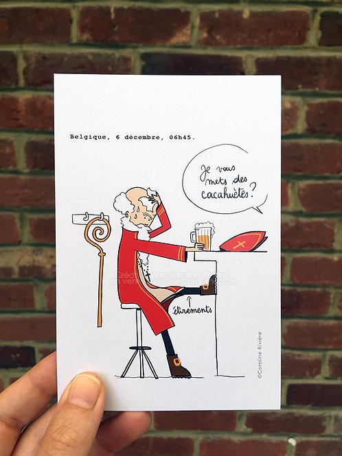 Carte postale / Belgique, 6 décembre
