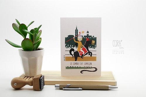 Carte Postale / Le Combat Dit Lumeçon