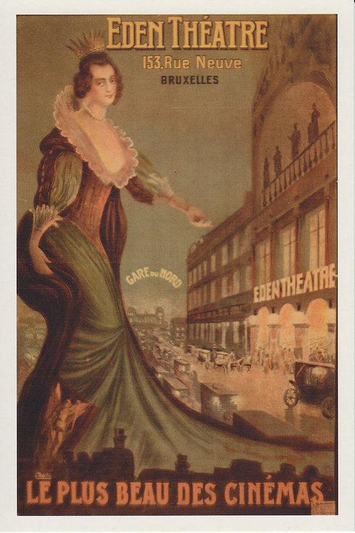 Carte postale / Eden Théâtre