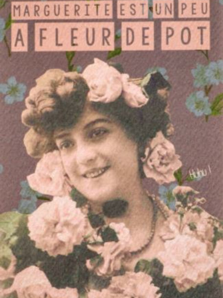 Carte postal / Marguerite