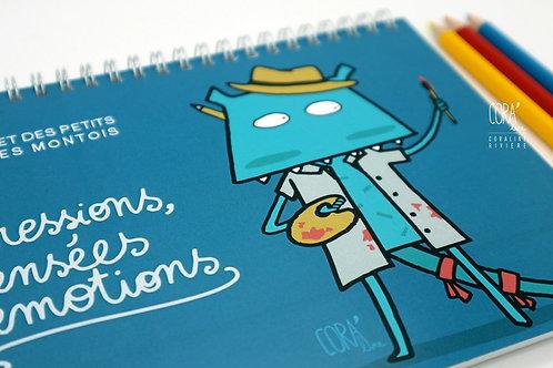 Carnet de Dessin Petits Artistes Montois