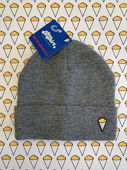 Bonnet cornet de frites gris chiné / BShirt