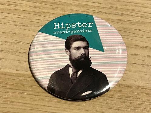 Badge / Hipster avant-gardantiste