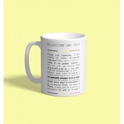Mug / Belgicismes