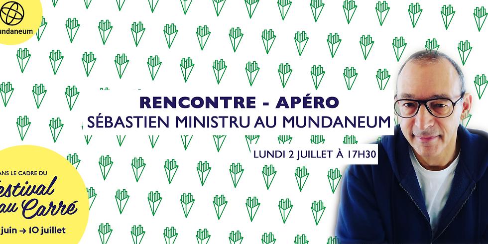 Apéro-Rencontre avec Sébastien Ministru au Mundaneum!