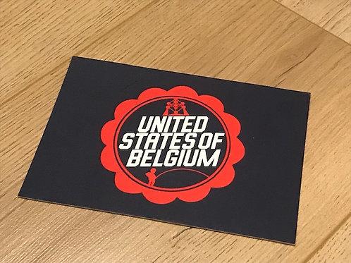 Carte postale / United States of Belgium
