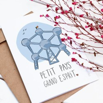 Carte postale / Petit pays. Grand esprit