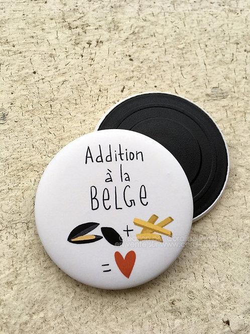 Magnet / Addition à la Belge