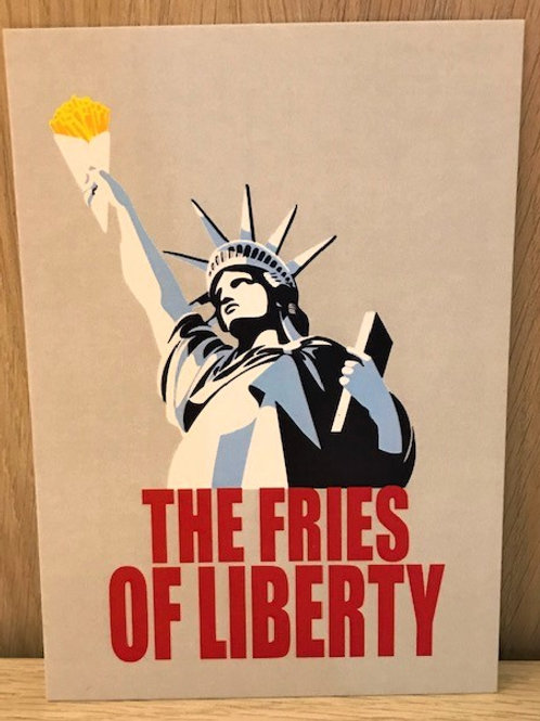 Carte postale / The fries of liberty