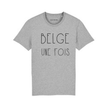 T-Shirt unisexe / Belge une fois