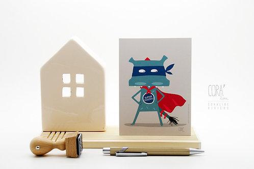 Carte postale / Dragon Super Doudou