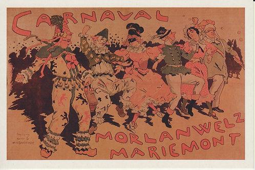 Carte postale / Carnaval Morlanwelz Mariemont