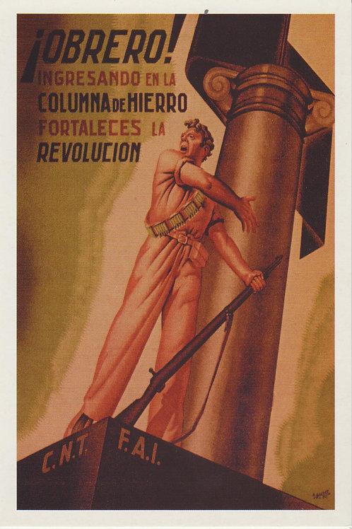 Carte postale / Obrero