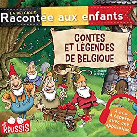 La Belgique racontée aux enfants